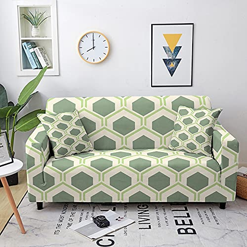 Sofá elástica Cubierta de la Cubierta Spandex Combinación de sofá Funda de sofá 1/2/3/4 Sofá de Esquina de Asiento (Color : Set 17, Specification : 3-Seater 190-230cm)