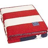 Faribault American Flag Throw | Wool - Red