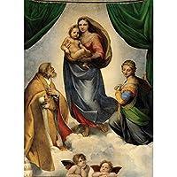 デジタル絵画エンジェルベイビーDIY油絵 数字キットによる絵画使用するブラシとアクリル顔料アートの家の装飾 40x50cm (フレームレス)