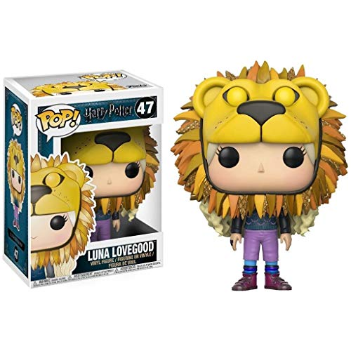 Luckly77 Luna Lovegood: Harry Potter x POP!PVC estilo de la película exquisita figura coleccionable, Multicolor - 3.9Inch