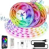 LED Strip 15M LED Streifen Smart APP Steuerung und...