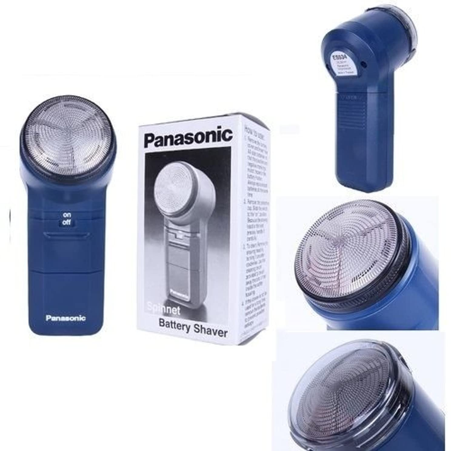 こねる誰か写真を描くPanasonic ES534電気シェーバースピンネットバッテリー純正と梱包 [並行輸入品]