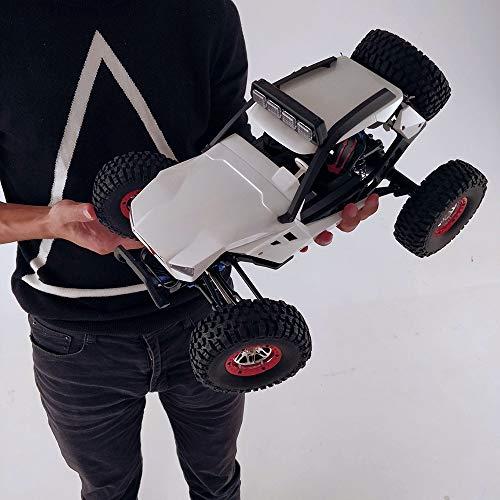 BUNCC 1:12 RC Coche rastreador 40 km/h 4WD 2,4G Luces de Cabeza de Coche eléctrico Juguetes RC Coches Todoterreno Regalos para niños Adultos