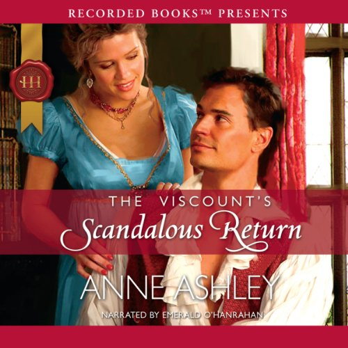 The Viscount's Scandalous Return audiobook cover art