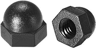 DealMux 50Pcs Negro M3 x 35 mm Casquillo de Acero de aleaci/ón de Acero Perno de Cabeza Hueca Hexagonal Tornillos para Metales