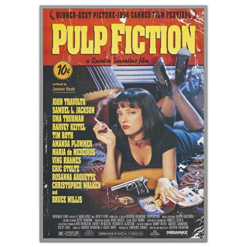 ArtPlate - PULP FICTION - Moldura PS Cinza - 30x40 - M2803101