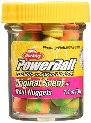 Berkley PowerBait Power Nuggets , Rainbow