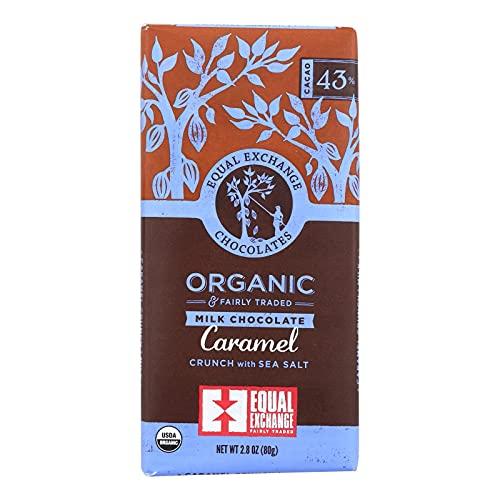 image of Equal Exchange Caramel Crunch Milk Chocolate