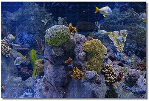 LFNSTXT America Gatlinburg Ripley's Aquarium of the Smokies Puzzle für Erwachsene Kinder 500 Teile Holzpuzzle Spiel für Geschenke Besondere Reise Souvenirs