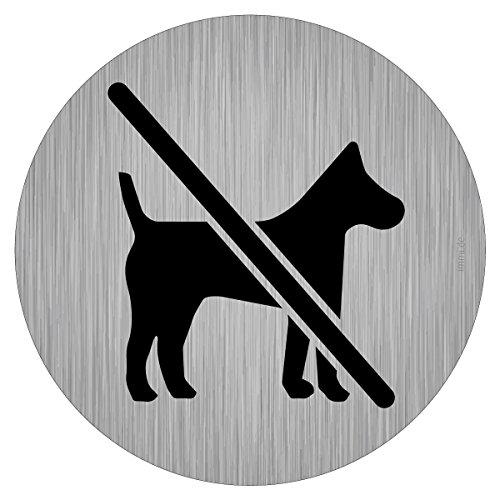 immi Verbots-Zeichen, Keine Hunde, Hunde müssen draußen bleiben, 95mmØ