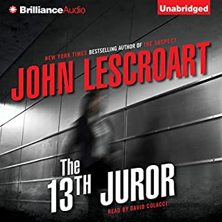 The 13th Juror audiobook cover art