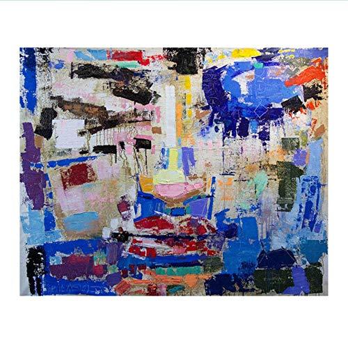 RuiChuangKeJi Impresiones de imágenes 60x80cm sin Marco Retrato Abstracto de la Muchacha Pintor Pintura al óleo Pintura contemporánea Moderna Decoración del hogar Imágenes Dormitorio