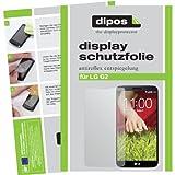dipos I 2X Schutzfolie matt kompatibel mit LG G2 Folie Bildschirmschutzfolie