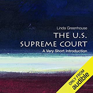 The U.S. Supreme Court: A Very Short Introduction cover art