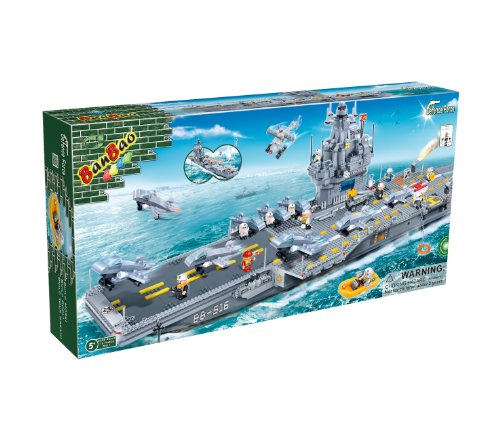 BanBao 8411Aircraft Carrier, grau
