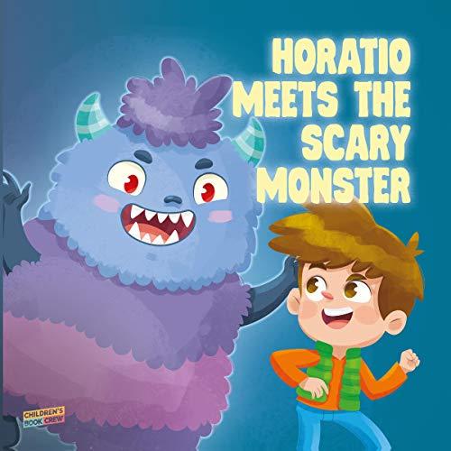 Page de couverture de Horatio Meets the Scary Monster