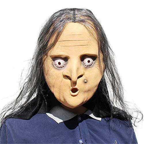 RENS Máscara De Halloween , Horror Divertido Látex Máscara De Cara Completa , Fiesta De Disfraces De Disfraces De Novedad #1
