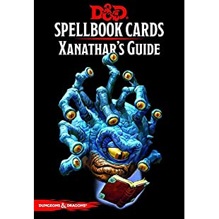 Dungeons and Drangons Spellbook Cards Xanathars Guide