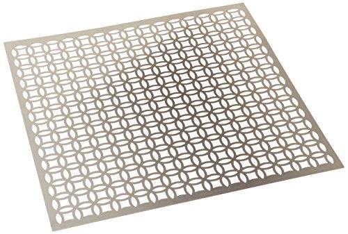 M-D Hobby & Craft Aluminio Chapa de Metal (30,4x 30,4cm, elíptica