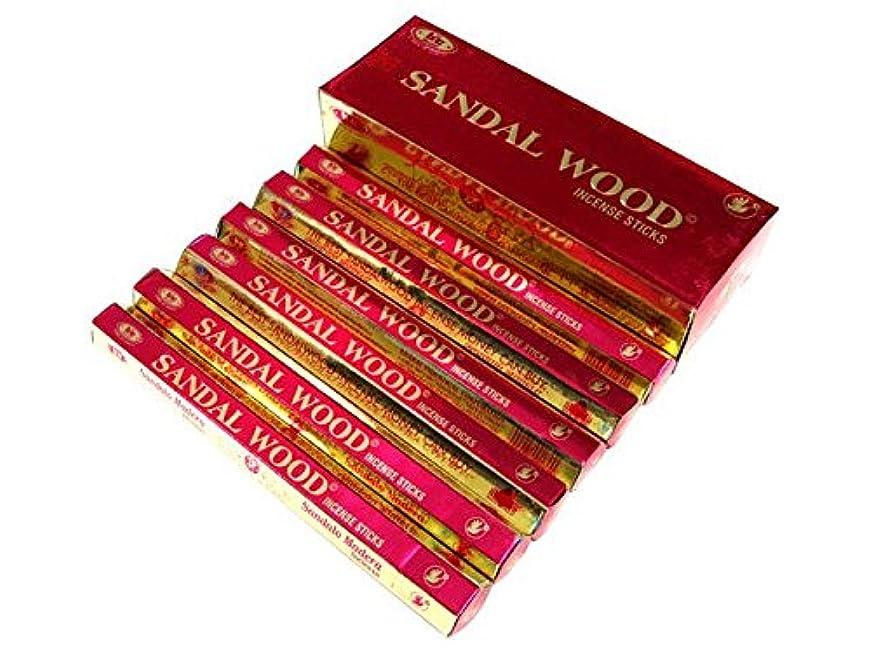 調整する愛腹痛BIC(ビック) サンダルウッド香 スティック SANDAL WOOD HEXA 6箱セット