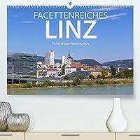 Facettenreiches Linz (Premium, hochwertiger DIN A2 Wandkalender 2022, Kunstdruck in Hochglanz): Hanna Wagner zeigt Monat fuer Monat die unterschiedlichen Facetten der oberoesterreichischen Donaustadt Linz. (Monatskalender, 14 Seiten )