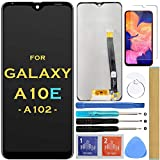 Screen Replacement LCD Display Touch Digitizer Assembly for Samsung Galaxy A10e A102 SM-A102U S102DL A102U1 A102W 5.83' (Black)