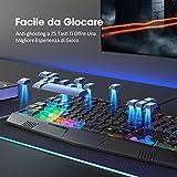 Zoom IMG-1 victsing tastiera gaming pc rgb