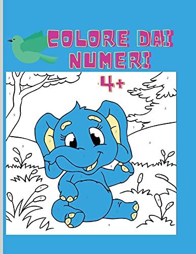 Colorare con i numeri: Incredibile libro da colorare con i numeri   Ore di divertimento nel colorare da facile a difficile