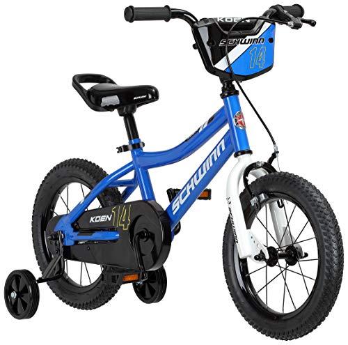 Buy Discount Schwinn Koen Boys Bike for Toddlers and Kids, 14-Inch Wheels, Blue