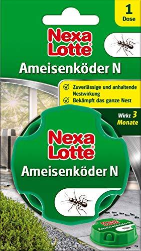Nexa Lotte Ameisenköder N, Ameisen Ex, Ameisenfalle, Mittel zum Bekämpfen von Ameisen innen im Haus und auf der Terrasse, Ameisengift mit Nestwirkung, 1 Dose