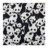 ANWUYANG BU 1 Unids 110 Cm Tela De Patrón De Panda Lindo, Material De Costura De Impresión Animal Panda 100% Algodón, Bricolaje Camisa Ropa Reminese