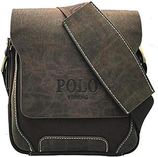 Classic shoulder bag,composite Leather Bag for Men