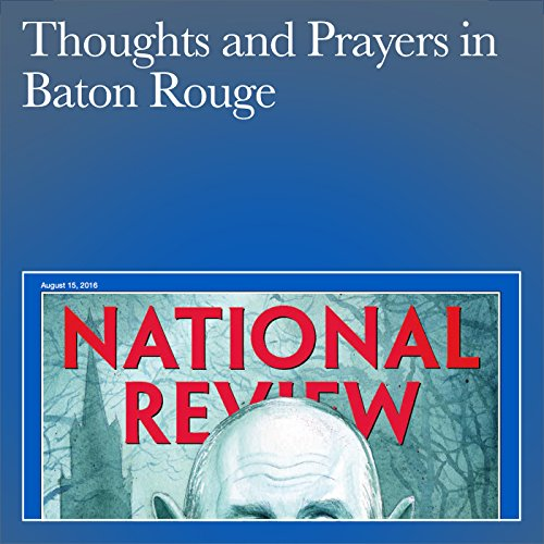 Thoughts and Prayers in Baton Rouge audiobook cover art