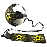 niyin204 Football Kick Trainer, Football/Volleyball/Rugby Trainer, Soccer Solo Skill Practice Training Aid, Control Skills Ceinture Élastique pour Enfants Adultes