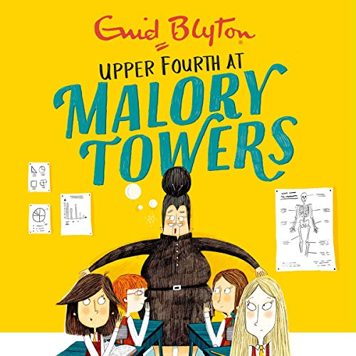 Malory Towers: Upper Fourth audiobook cover art