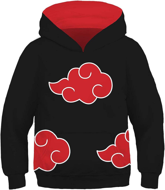 Kids Naruto0 Shippūden Hoodie Coat Boy's Pullover Sweatshirt Child Jumper Gift