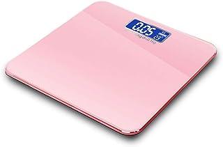 YUHUANG Báscula de Peso, Pantalla LCD electrónica Báscula de baño de Peso Báscula Inteligente Báscula de Salud Humana para el hogar Báscula de Peso precisa,B