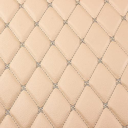 ZHANGQIANG Tipo de Tela Cuero Color Liso PVC Tela Suave Retardante imitación Material tapicería Repelente al Agua Hecho a Mano Artesanía Costura Suministros Bordado 160 cm(Color:1.6x1m)