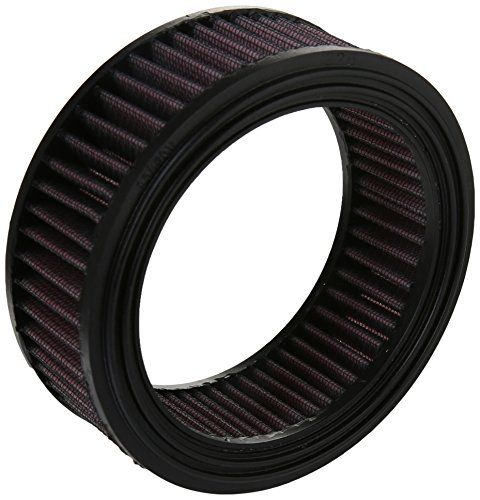 Kuryakyn 8513 Motorcycle Hypercharger Air Cleaner/Filter Component: Replacement K&N Filter Element, Standard Models, Pack of 1