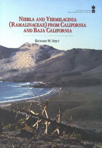 Niebla and Vermilicinia (Ramalinaceae) from California and Baja California