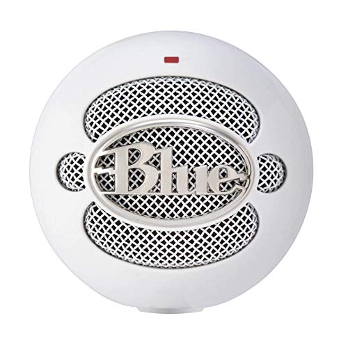 (Renewed) Blue Snowball iCE Microphone - Stand Not Included - White