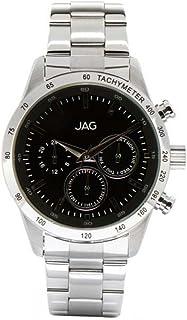 JAG Men's J1960A Year-Round Analog Quartz Silver Watch
