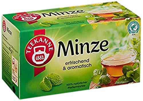 Teekanne Minze 20 Beutel (45 g Packung)