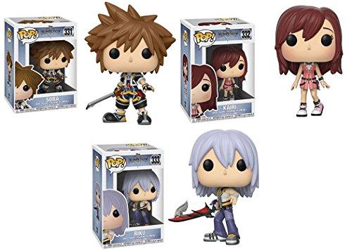 Funko POP! Disney: Disney Kingdom Hearts: Sora + Kairi + Riku