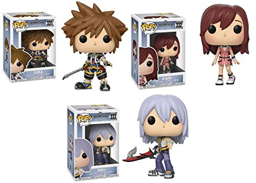 Funko POP! Disney: Disney Kingdom Hearts: Sora + Kairi + Riku