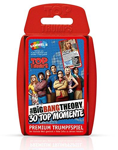 Winning Moves win61908 – Top Trumps – The Big Bang Theory, Jeu de Cartes