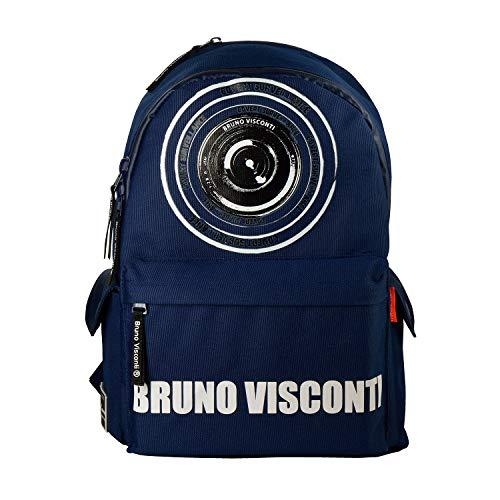 Bruno Visconti Waterdichte en Ultralight Rugzak, Blauw Kleur