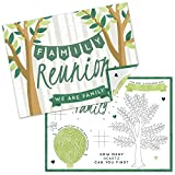Big Dot of Happiness Family Tree Reunion - Paper Family Gathering Party Coloring Sheets - Activity Placemats - Set of 16