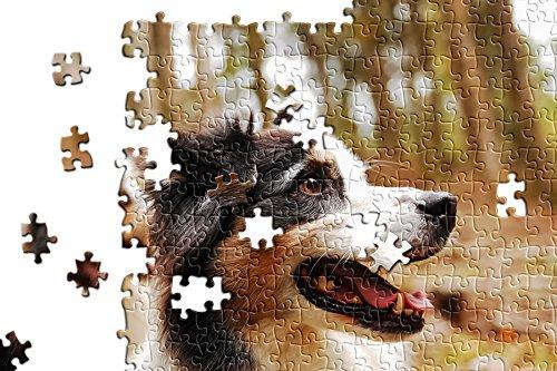 hansepuzzle 'Vero-Print' Foto-Puzzle - 500 Teile mit eigenem Bild in hochwertiger, individueller Kartonbox, Puzzle-Teile in wiederverschliessbarem Beutel