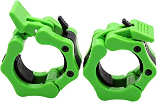 Greententljs Olympic Barbell Clamps 2 inch Quick Release Pair of Locking 2